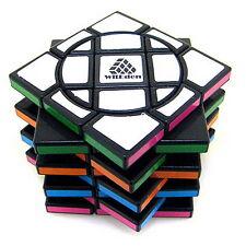 Full Function WitEden Super Crazy 338 3x3x8 I Magic Cube Black Twist Puzzle