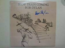 BOB DYLAN:Slow Train Coming-Israel LP 1979 CBS Records,PCV Autographed By Dylan