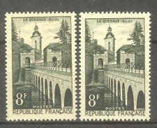 """FRANCE STAMP TIMBRE N° 1105 """" LE QUESNOY REMPARTS 8F, 2 COULEURS """" NEUFS  xx TTB"""