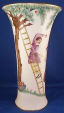 Rare Original Period Augarten Vienna Art Deco Porcelain Vase Porzellan Wien