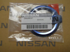 NEW OEM GENUINE NISSAN BLUE ICE EMBLEM - NISSAN LOGO