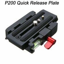 Quick Release Plate Clamp Adapter Mount For Manfrotto 500 AH 701 503 HDV 577----
