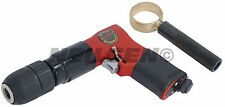 """Air powered reversible drill - 1/2"""" drive Keyless Chuck with side handle"""