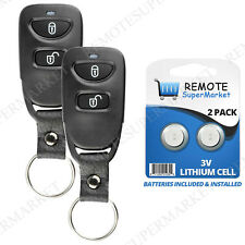 2 Replacement for Hyundai 2005-2009 Tucson Remote Car Key Fob Keyless Entry