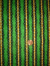 In the Beginning fabric -cotton, quilt NOT SO SPOOKY-scalloped stripes-1 yard