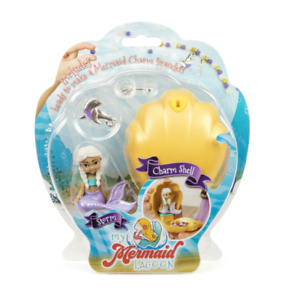 INTERPLAY MY MERMAID CHARM SHELL STORM PLAYSET SUITABLE FOR CHILDREN 4+ TO CLEAR