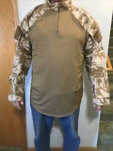 Combat underbody armour shirt XXL tan camo Long Sleeve
