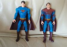 "2006 mattel superman returns 5.5"" dc comics action figures Red Cape pull back"