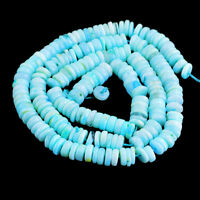 115.00 Cts / 17 Inches Natural Drilled Peruvian Opal Round Shape Beads Strand