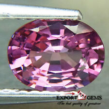 UNHEATED 1.34CT EXCELLENT NATURAL OVAL PINK SPINEL