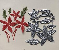 Christmas Flower, Pointsettia Metal Craft Die. Cards, Scrapbooking Uk Selling
