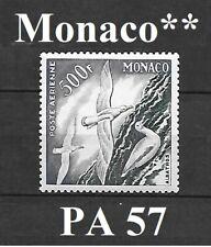 Timbre de MONACO  Poste aérienne PA 57 **