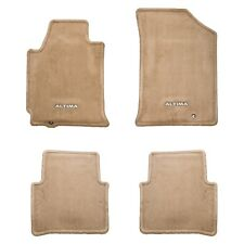 2010-2011 Nissan Altima Sedan Beige Front & Rear Carpeted Floor Mats Set OEM NEW