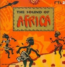Sound of Africa (1998) Wes, Mory Kante, Dario G, Deep Forest, Khaled, You.. [CD]