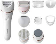 Philips Series 8000 Epilator Wet and Dry Cordless Hair Removal Skin BRE740/11 Ne