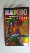 Sly Stallone Rambo First Blood II & Col. Sam Trautman Hot Toys MInt! NRFB!