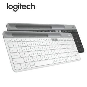 Logitech K580 wireless Bluetooth keyboard mobile phone iPad computer portable