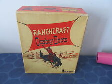 Ranchcraft vintage Cowboy Boots Box Only Jcpenneys