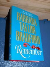 Remember by Barbara Taylor Bradford HC/DJ BCE FREE SHIPPING