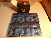 CHAOS ISLE Zombie Card Game LOT OF 6 CORE DECKS in Display Box SEALED NEW!!