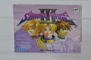 * NO GAME * Sleeve ONLY Sega Saturn Shining Force 3 Premium Disc * NO DISC *