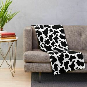 Bed for Couch Home Textile Cow Print Bedding Microfiber Throw Kid Blanket