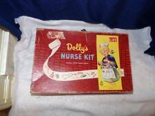 HASBRO 1950s 1960s vintage doll box toy DOLLY'S nurse doctor medical kit #1730