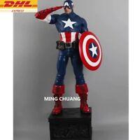 1/4 Avengers Infinity War Superhero Captain America Action Figure Collectible