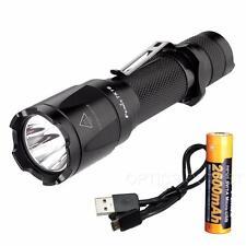 Fenix TK16 1000 Lumen Tactical LED Flashlight /w Strobe & USB Rechargeable 18650