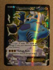 Thundurus EX 98/108 Roaring Skies - Near Mint Pokemon Card Ultra Rare Full Art
