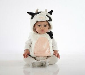 Pottery Barn Kids Baby Cow Halloween Costume 0-6 Months NWT