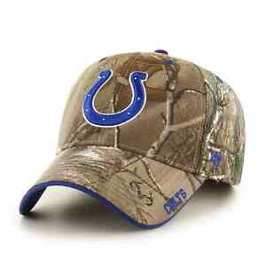 Indianapolis Colts '47 Realtree Camo Frost MVP Adjustable Field Hat Cap NFL