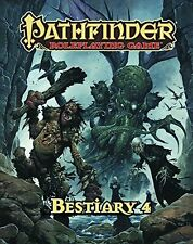 Pathfinder Bestiary 4 1st Printing RPG D&D Includes stats for Cthulhu