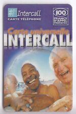 FRANCE TELECARTE / PHONECARD PREPAYEE .. 100F INTERCALL  PLAGE V°1 12/02+N°