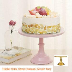 Metal Iron Round Cupcake Cake Stand Display Wedding Party Fruit Dessert Tray