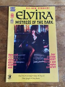 Elvira Mistress of The Dark #1 Claypool Comics 1993  COMBINED SHIPPING H