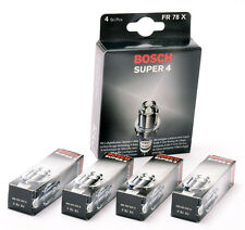 Peugeot 106 Bosch Super-4 Bougies Allumage (4) XSI RALLYE GTI Bosch FR78X
