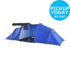 ProAction Polyester 6 Man 2 Room Tent - Blue. From Argos