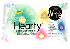 Activa Hearty Super Lightweight Air Dry, 5-1/4-Ounce, White Clay, 5.25 oz