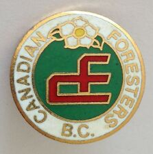Canadian Foresters Bowling Club Badge Rare Vintage Canada (K8)