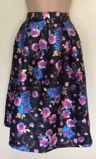 Party Floral Regular Size Flippy, Full Skirts for Women