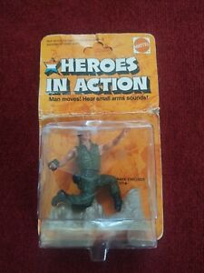 1974 Heroes in Action Mattel Company Commander Complete Vintage Works