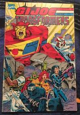 GI Joe and the Transformers Graphic Novel Issues 1-4 '93 Marvel
