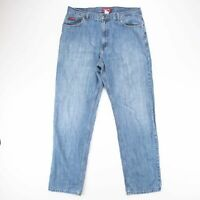 Vintage Chaps Denim Relaxed Straight Fit Men's Blue Jeans W36 L34