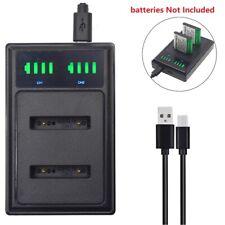 USB Dual Battery charger for Kodak KLIC7006 LB-012 PixPro FZ53 PixPro FZ51