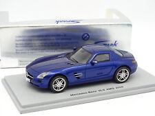 Spark 1/43 - Mercedes SLS AMG 2009 Bleue