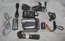 Vintage Sony HandyCam Dcr Dvd203 Camcorder in Box
