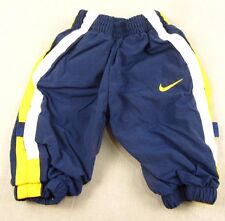 Nike Athletic Pants Baby 3-6 Months Navy Blue Gym Workout Sports Lined