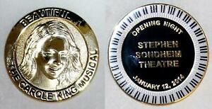 BEAUTIFUL THE CAROLE KING MUSICAL Opening Night Cast & Crew Only Coin