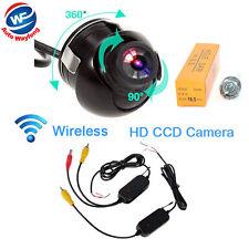 Sans fil Inverse de voiture caméra de recul rétroviseurs système étanche 360°